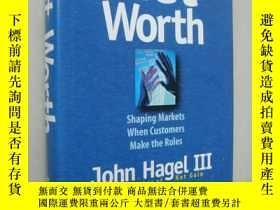 二手書博民逛書店Net罕見Worth 【shaping markets when