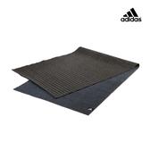Adidas Yoga-防滑專業訓練熱瑜珈墊-2mm(黑色)
