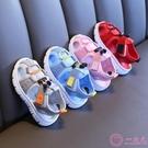 學步鞋 男寶寶涼鞋2019夏新款女寶寶鞋子1-3歲嬰兒軟底防滑12個月學步鞋