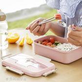 Ymer保溫飯盒學生女食堂分格便當盒帶蓋韓國創意可愛成人餐盒套裝〖滿千折百〗