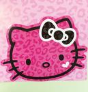 【震撼精品百貨】Hello Kitty 凱蒂貓~凱蒂貓 HELLO KITTY 車用大磁鐵-桃大臉