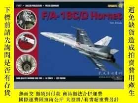 二手書博民逛書店F A-18罕見C D Hornet (Slight damaged)-F A-18 C D大黃蜂(輕微損壞)