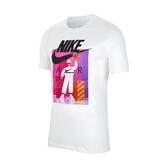 Nike 短袖T恤 NSW SS Tee Airman Futura 白 彩 男款 短T 運動休閒 【ACS】 CW0411-100
