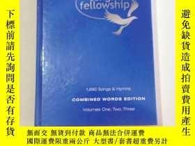 二手書博民逛書店songs罕見of fellowship 友誼之歌Y25607 songs of fellowship son