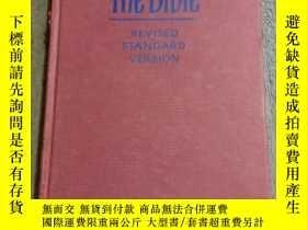 二手書博民逛書店the罕見bible revised standard version(1952年精裝32開本)英文原版Y16