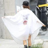 雨衣 自行車雨衣單人男女成人水衣單車透明可愛韓版學生騎行雨披 酷斯特數位3c