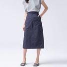簡約時尚高腰裙子直筒裙包臀裙窄裙韓版【80-18-8Z3392-21】ibella 艾貝拉
