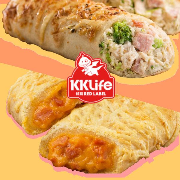 【KK Life-紅龍免運組】香酥派餅野餐組 (派1袋+肉捲6條)