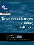 二手書博民逛書店 《Telecommunications cabling installation》 R2Y ISBN:0071409793│Bicsi