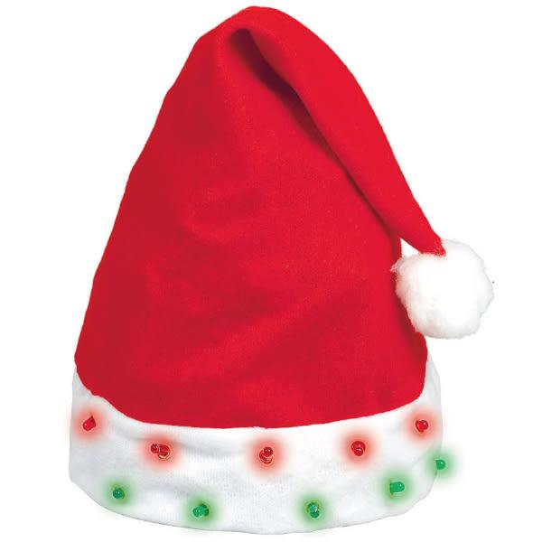 聖誕 裝扮 發光聖誕帽1入