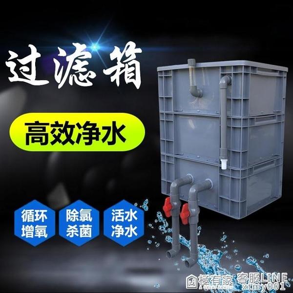 魚缸魚池過濾器滴濾盒周轉箱diy系統增氧培菌上置過濾滴流盒凈水 ATF 中秋鉅惠
