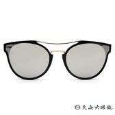 PAUL HUEMAN 韓流墨鏡 水銀 雙槓貓眼 太陽眼鏡 PHS1100A C05 黑-金 久必大眼鏡