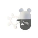 日本 迪士尼 Disney 米奇小饅頭零食收納盒/收納罐~灰