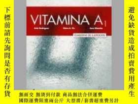 二手書博民逛書店Vitamina罕見A1 : Exercises Book with free coded access to t