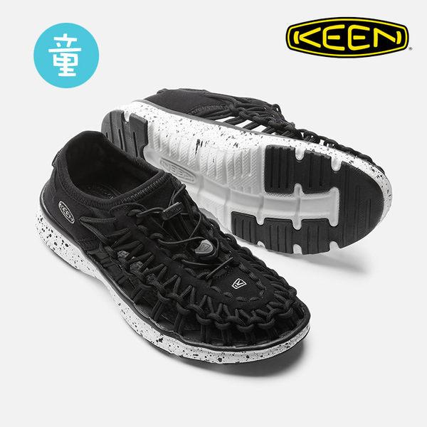 KEEN 童款 織帶涼鞋Uneek O2 1016663 / 城市綠洲 (編繩結構、輕量、戶外休閒鞋、運動涼鞋)