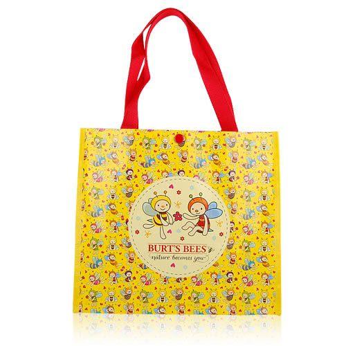 BURT'S BEES 蜜蜂爺爺 卡通環保購物袋【美麗購】