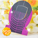 [指甲延展專用]嘉奈兒水晶指甲紙膜-蛋形500PCS [49222]◇美容美髮美甲新秘專業材料◇