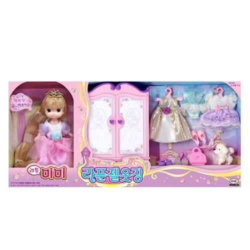 《 MIMI World 》迷你MIMI 長髮公主衣櫥組╭★ JOYBUS玩具百貨