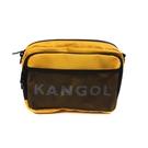 KANGOL 側背包 方包 黃色 6125170460 noC67