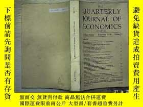 二手書博民逛書店the罕見quarterly journal of econom
