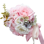 全館83折 結婚新娘手捧花婚慶用品婚禮韓式花球仿真手捧花拍照攝影道具
