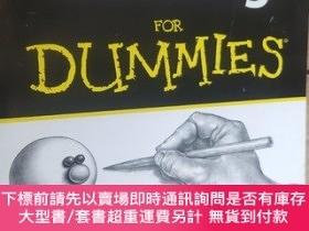二手書博民逛書店Drawing罕見For Dummies by Artist and art educator Brenda Ho
