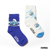 STAYREAL x 藍色小精靈 SMURFS玩趣短襪組 (一組2款)