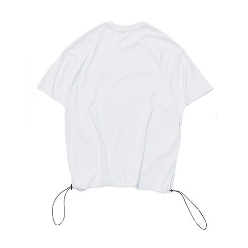 下擺抽繩寬版T STAGE FOCUS OVERSIZED TEE 黑色/白色 兩色