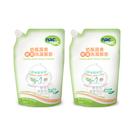 【愛吾兒】nac nac 奶瓶蔬果酵素洗潔慕斯補充包(600mlx2)