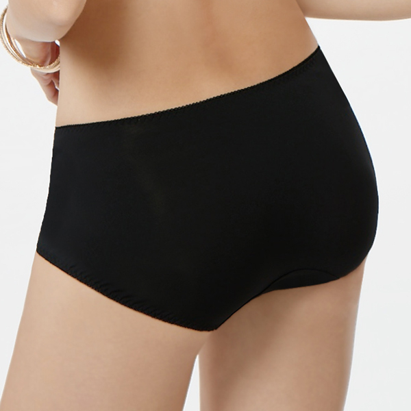 【曼黛瑪璉】包覆提托經典 低腰平口萊克內褲(黑)(未滿3件無法出貨,退貨需整筆退)