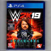 【PS4原版片 可刷卡】☆ WWE 2K19 ☆英文版全新品【台中星光電玩】