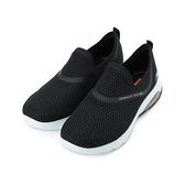 SKECHERS 健走系列 GO WALK AIR 套式運動鞋 黑白 124073BKW 女鞋