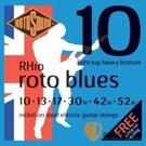 ROTOSOUND RH10 鍍鎳電吉他弦(10-52)【英國製/電吉他弦/R-10】