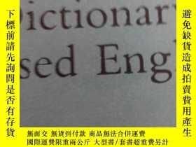 二手書博民逛書店The罕見Dictionary of Diseased Engl