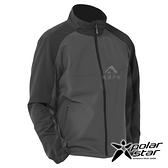 【PolarStar】中性 內刷毛保暖外套『鐵灰』P20207 上衣 休閒 戶外 登山 冬季 保暖 禦寒 防風
