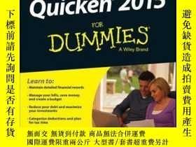 二手書博民逛書店Quicken罕見2015 For DummiesY410016 Stephen L. Nelson ISB