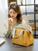 飯盒手提包保溫袋鋁箔加厚便當袋飯盒袋子帶飯包手拎上班族餐包 韓國時尚週