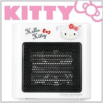 Hello Kitty 陶瓷暖風機 陶瓷發熱器 電暖器