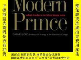 二手書博民逛書店The罕見Modern PrinceY256260 Carnes Lord Yale University P