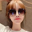 眼鏡 2021年新款女士時尚墨鏡 韓版潮防紫外線偏光太陽眼鏡網紅大臉夏 滿天星