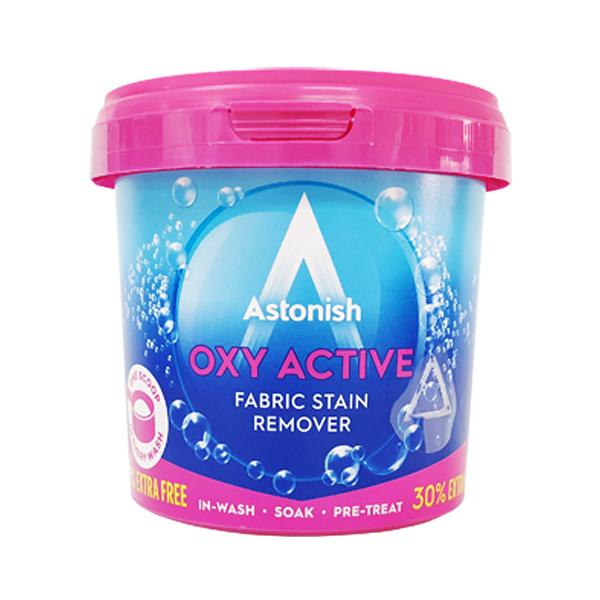 英國 Astonish 衣物去污除臭洗衣添加劑 500g (OXY ACTIVE FABRIC STAIN REMOVER)
