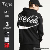 可口可樂背面印刷連帽T恤
