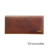 Crocodile 義大利植鞣製皮 Bravo系列 長夾 0103-07101-02