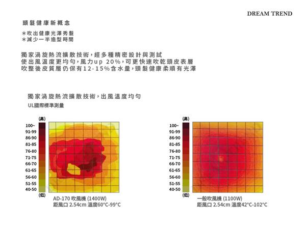 【DT髮品】雅娜蒂 AD-170 超輕量渦漩式 超強風 吹風機 冷熱風 美髮師指定【0605019】