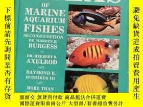 二手書博民逛書店Dr.罕見Burgess s Altas of Marine Aquarium Fishes 2nd Edtion