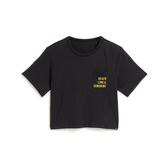 Hurley W GOOD TIMES POCKET SS CREW BLACK T恤-(女)