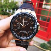 CITIZEN日本星辰藍正龍與吳慷仁代言Eco-Drive商務五局電波限量腕錶CB0164-17E公司貨