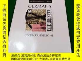 二手書博民逛書店THE罕見BUSINESS CULTURE IN GERMANY