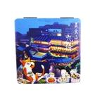 【收藏天地】台灣紀念品*雙面隨身鏡-九份美食山城∕小物 送禮 文創 風景 觀光  禮品