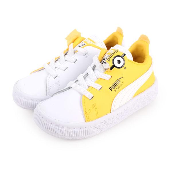 PUMA Minions Basket BS AC Inf 男女小小兵兒童休閒鞋(童鞋≡體院≡